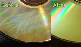 before and after cd repair